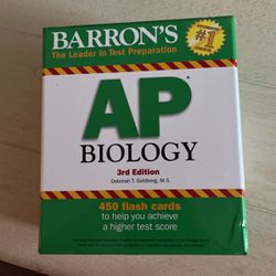 AP Biology Flashcards for Sale in Sarasota,  FL