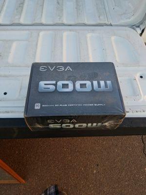600watt 80 plus Certified power supply for Sale in Phoenix, AZ