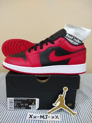 "New* Air JORDAN 1 Low GS ""Reverse BRED"" Youth Mens Size 7y or Womens 8.5 US - DS OG All for Sale in Everett, WA"
