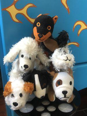 dog mini plushies for Sale in Garden Grove, CA