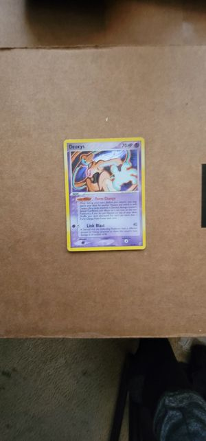 Deoxys Holo 16/107 Rare Near Mint for Sale in Manteca, CA