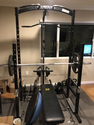 Body Core fitness/gym Rack, very new. for Sale in Los Angeles, CA