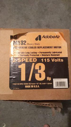 1/3 hp swamp cooler motor for Sale in Las Vegas, NV