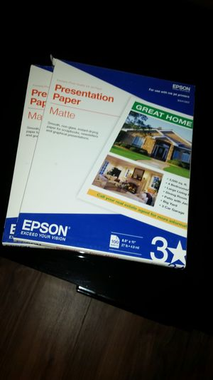 2 pack of photography paper for Sale in Auburn, ME