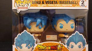 GOKU & VEGETA BASEBALL EXCLUSIVE FUNKO POP 2 PACK for Sale in Anaheim, CA