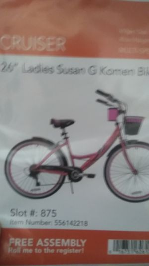 26 in girls cruiser bike brand new for Sale in Philadelphia, PA
