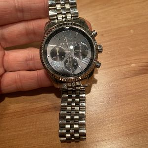 Michael Kors Men's Chronograph Lexington Stainless Steel Bracelet Watch 44mm for Sale in Vienna, VA
