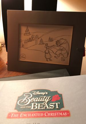 Disney Beauty&Beast Lithograph for Sale in Cranberry Township, PA