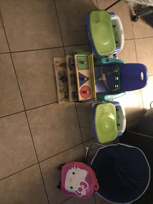 Baby/ Toddler Seats, bag, and toys for Sale in Herndon, VA