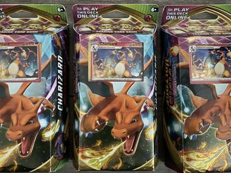 3 PACKS Pokemon Vivid Voltage Charizard Theme Deck for Sale in Rancho Cucamonga,  CA