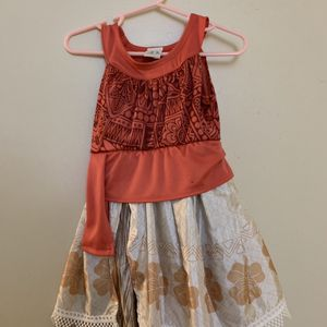 Girl Moana Dress 3-4 Year Old for Sale in Duarte, CA