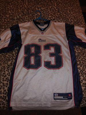 Patriots jersey size medium wes welker for Sale in Denver, CO