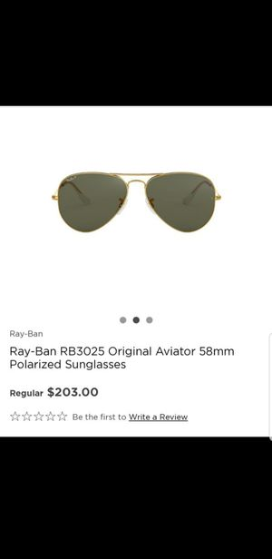 Brand new ray ban polarized aviator sunglasses for Sale in Ontario, CA