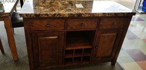 MARBLE dining room table & buffet for Sale in Fairfax, VA