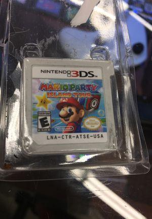Mario party island tour 3Ds for Sale in Phoenix, AZ