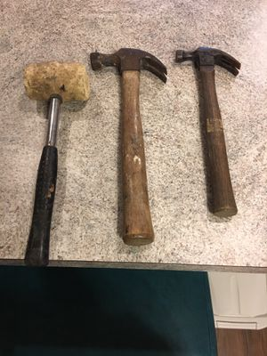 3 used hammers for Sale in Crofton, MD