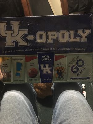 UK Opoly board game for Sale in Louisville, KY