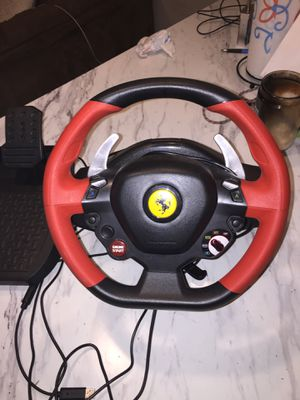 Xbox Ferrari racing wheel for Sale in Georgetown, KY
