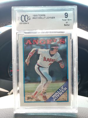Wally joyner vintage 1988 topps baseball card for Sale in Mission, TX