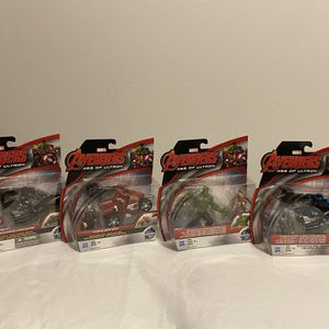 Gift For Kids! 4 Marvel Avengers Age Of Ultron for Sale in Charlotte, NC