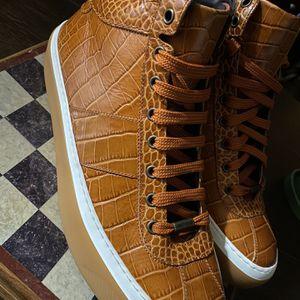 Jimmy Choo Belgravia Sneakers Sz 9.5 for Sale in Windsor, CT