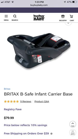 Brand new in box Britax Car Seat Base for Sale in South Miami, FL