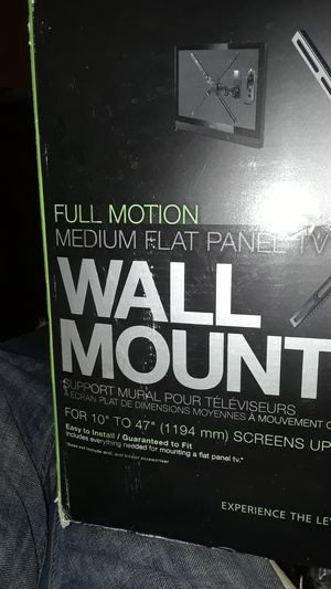 Tv,wall mount for Sale in Hialeah, FL