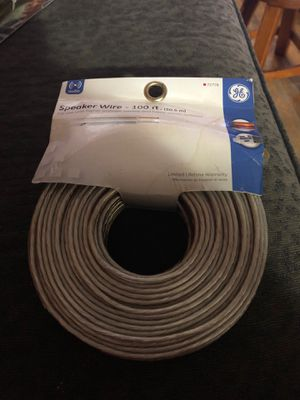 GE Audio Speaker Wire - 100 ft for Sale in Chicago, IL