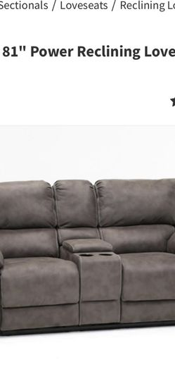 Free Electric Reclining Sofa With Console (not Perfect) for Sale in San Diego,  CA
