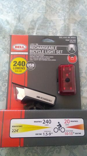 Never-Used Bicycle Light Set for Sale in West Palm Beach, FL