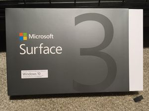 Microsoft Surface 3 Box ONLY for Sale in Laurence Harbor, NJ