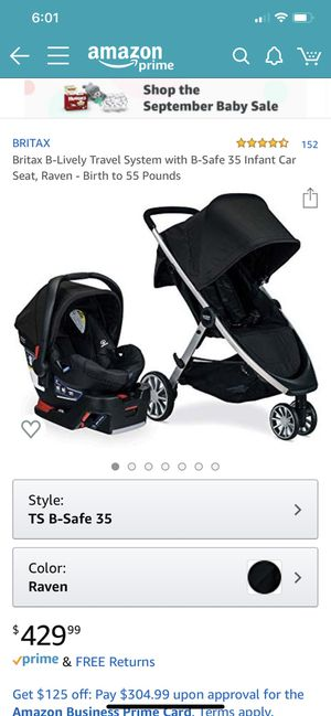 Britax infant car seat and stroller for Sale in Apple Valley, CA