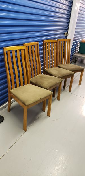 4 Chairs for Sale in Washington, DC