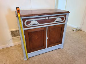 Antique wash stand cabinet for Sale in Fairfax, VA