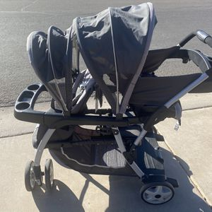 Graco Double Stroller Great Condition for Sale in Chandler, AZ