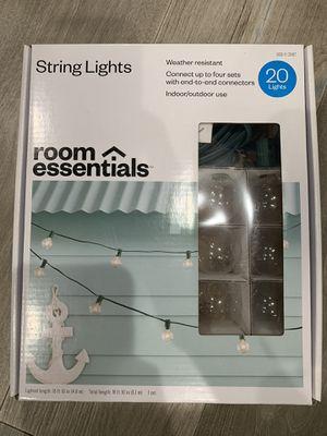 String Lights Indoor Outdoor for Sale in San Francisco, CA