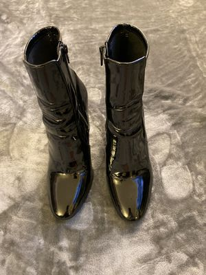Aldo patent boots for Sale in New York, NY