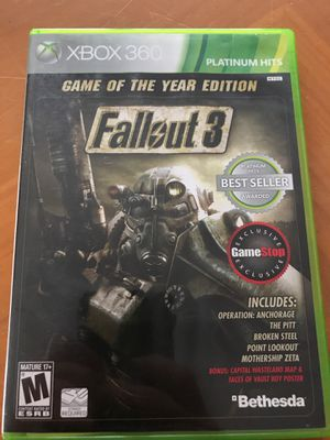 Fallout 3 for Sale in Manton, MI
