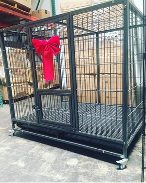 New 50 Inch Heavy Duty Dog Crate Kennel Plastic Grid for Sale in Chula Vista, CA