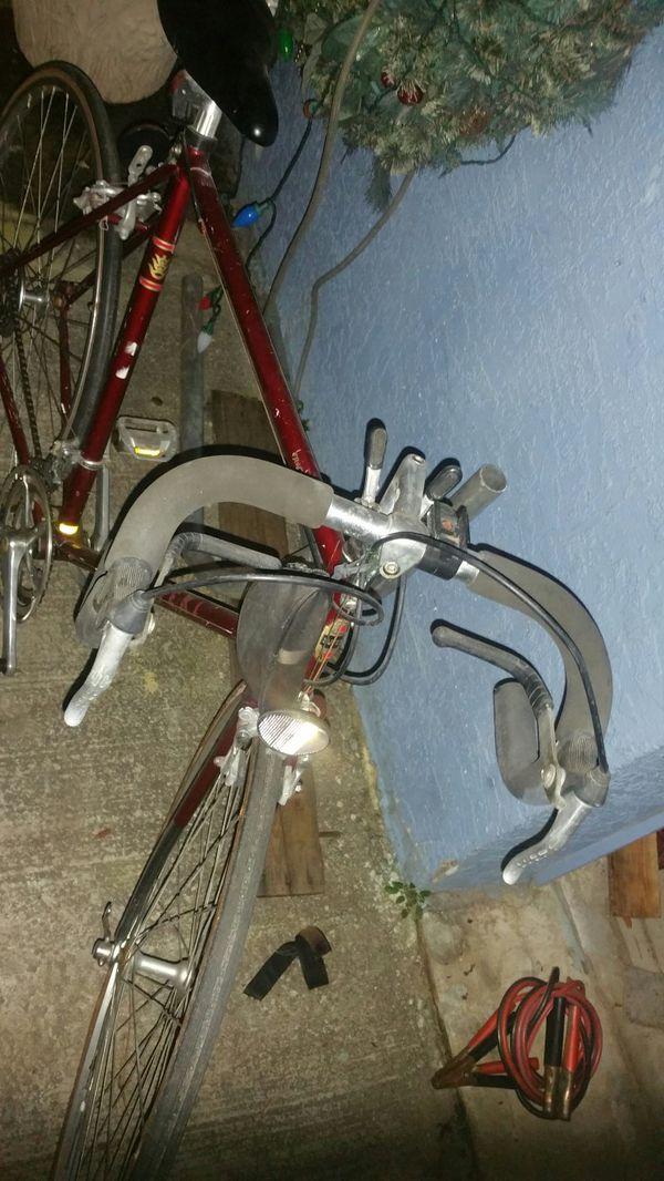 Vintage Japanese road bike