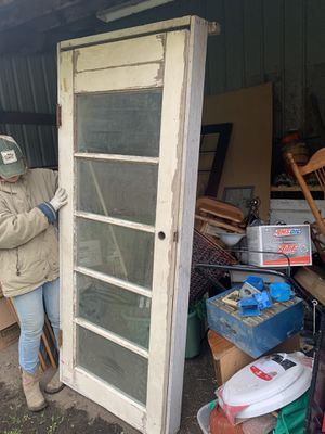 Glass door/wood door for Sale in Canby, OR