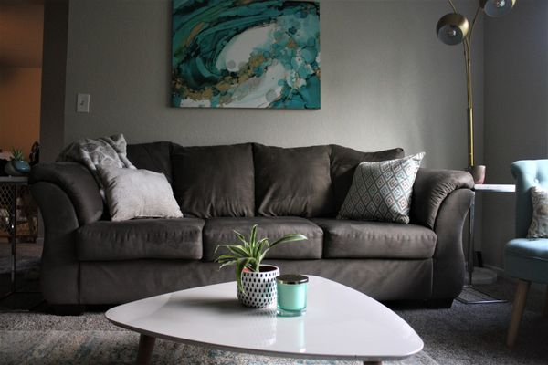 Gray Sofa Couch