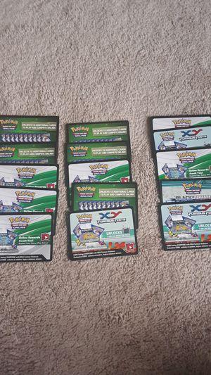 Pokemon Cards Online Booster Packs TCGO for Sale in Herndon, VA