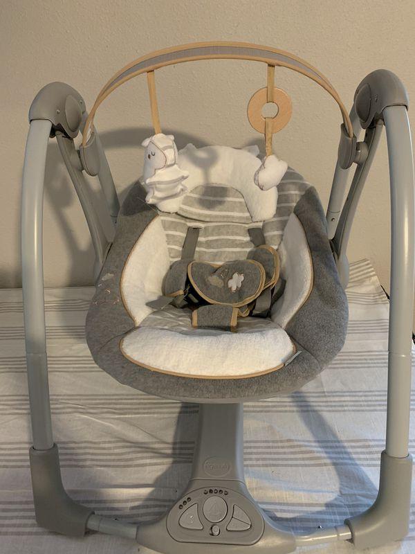 Ingenuity Swing 'n Go Portable Swing