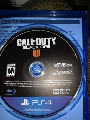 Black ops 4 PS4 for Sale in Carson, CA