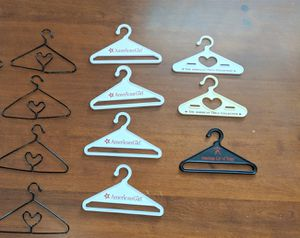 American girl and Pleasant company doll hangers for Sale in Bristol, PA