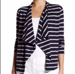 J.Crew Always Cardigan in Stripe Navy/Ivory Size XS for Sale in Brooklyn, NY