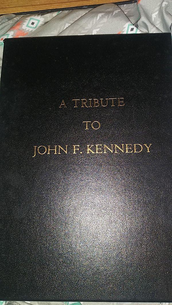 Tribute book to JFK
