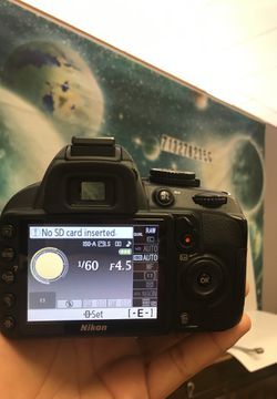 Nikon D3100 for Sale in Houston,  TX