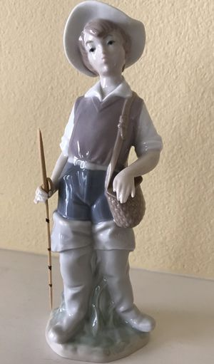 Lladro Figurine Fisher Boy for Sale in San Clemente, CA